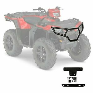 Atv Front Brush Guard Bumper For Polaris Sportsman 450 570 Touring Etx 2014 2020 Ebay