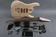 Kit DIY Guitarra eléctrica JS Tilo - Unfinished electric guitar DIY Jackson JS