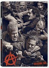 Sons of Anarchy Season Six (DVD, 2014, 5-Disc Set)