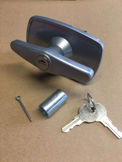Marley Garage Door T Handle Lock Parts 15mm Autodor Truckman Top Ebay