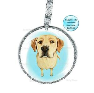Yellow Lab Ornament Labrador Retriever Art Christmas Tree ...