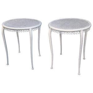 Paire De Tables D'appoint Art Deco , Style René Prou, 1940 Xuapcpve-10044101-718127289