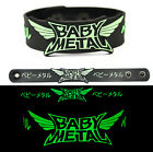 BABY METAL Rubber Bracelet Wristband Glows in the Dark