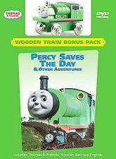 Thomas & Friends Percy Saves The Day DVD With Metallic Toy Train New sealed Rare