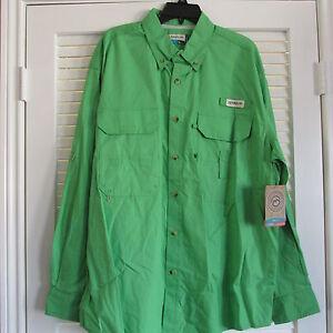 Magellan l s fish gear fishing shirt upf 20 2xl 15 ebay for Magellan fishing pants