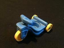 Vintage Fisher Price Little People Blue Tricycle Trike Bike Little Riders