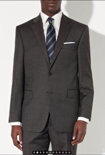 L John Bobby in Birdseye lana Giacca regolare New vestibilità Grigio pura 44 Lewis 1RRU6q