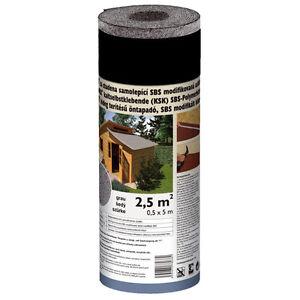 selbstklebende gartenhausbedachung 2 5 m grau dachpappe schwei bahn bitumenbahn ebay. Black Bedroom Furniture Sets. Home Design Ideas