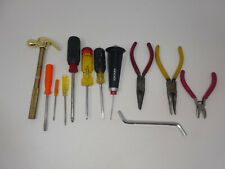 Mixed Lot Hand Tools Screwdrivers Pliers Mallet