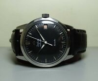 VINTAGE ZODIAC Calendar Winding DATE SWISS MADE WRIST WATCH H66 Old used antique