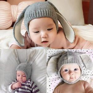 LC  bébé tout-petit enfants garçon fille tricoté Lapin Crochet ... 6d028521054