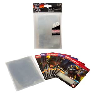40-Ultra-Pro-Oversized-Clear-Deck-Protector-Sleeves-3-5-034-x-5-034-Card-Sleeves