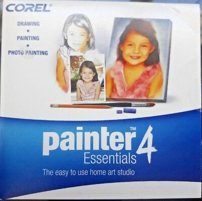 New Corel Painter 4 Essentials for Win 2000/XP/Vista Mac OS X 10 4 x | eBay