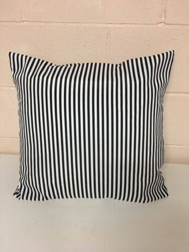THROW PILLOW COVER HANDMADE 20 X 20 Black And White Ships Free