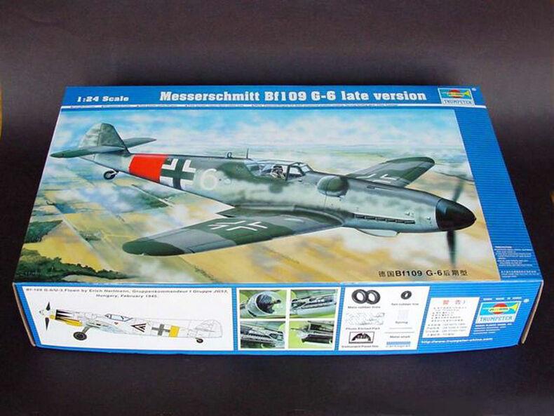 Trumpeter 1 24 02408 Messerschmitt Bf109 G-6 Late Version