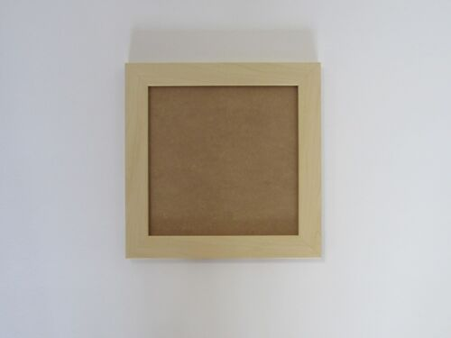 Ivory Effect 8x8 Square Photo Picture Frame Hang