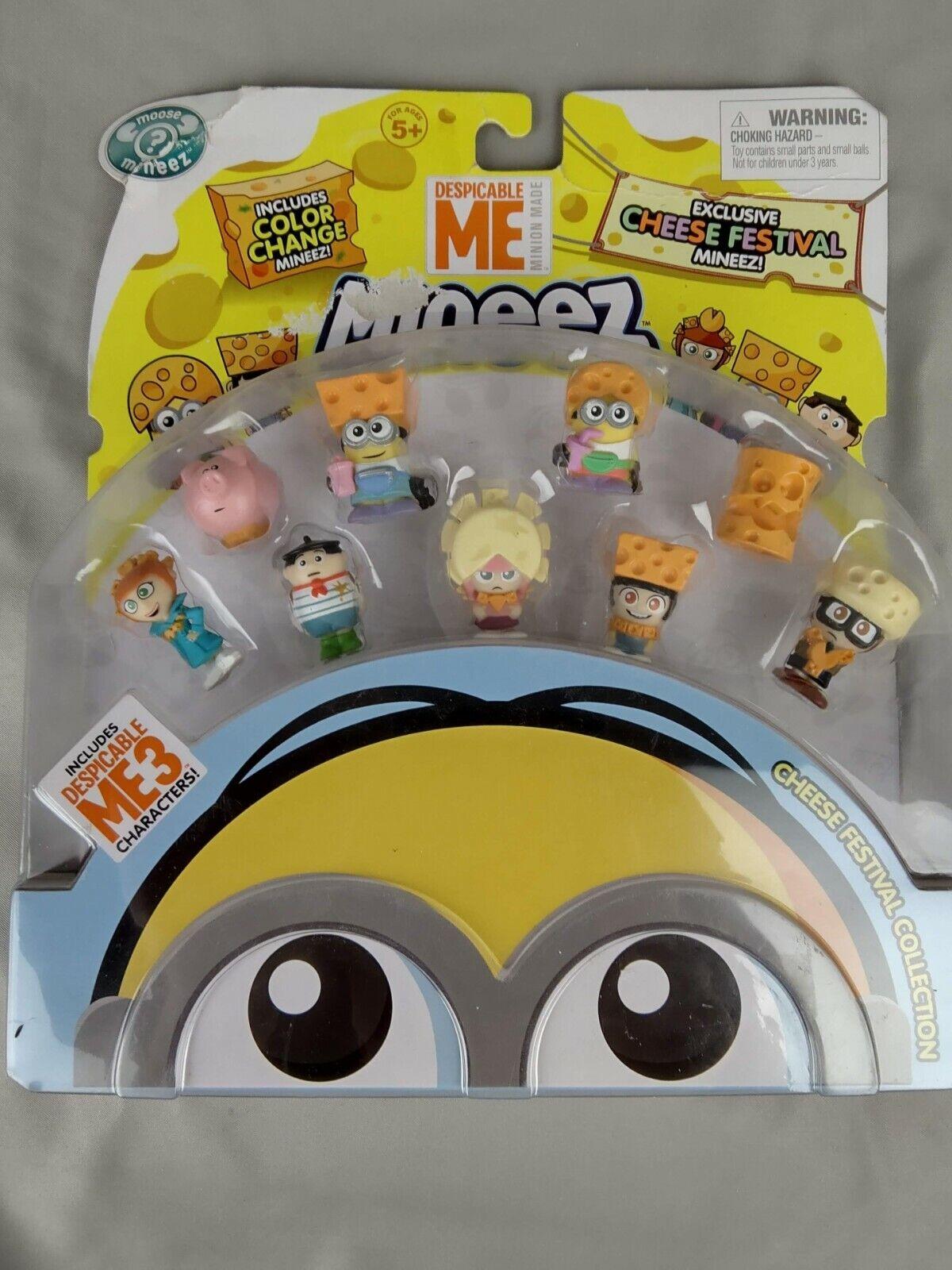 Despicable Me Minions Cheese Festival Mini Figure 9-Pack