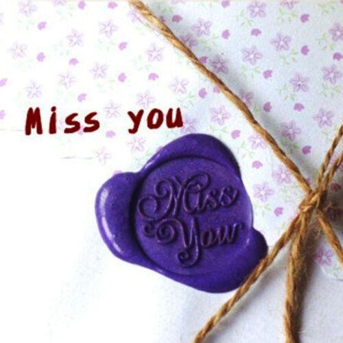 Letter Envelope Wax Seal Stamp Print Head Invitations Card Wedding DIY Supplies