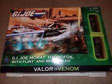 G.I.JOE VALOR vs VENOM: MORAY HYDROFOIL with FLINT and BEACHHEAD