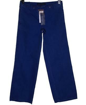 Ehrgeizig Bnwt Women's French Connection Jeans Trousers Rrp£65 Neon Blue New Fcuk Um 50 Prozent Reduziert