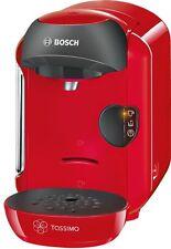 Red Bosch Tassimo TAS1253GB Vivy Multi Beverage Hot Drinks Coffee Machine 1300w