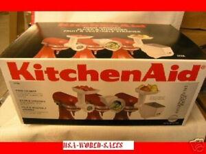 New Kitchenaid Fppa Mixer Attachment Package Fga Fvsp Rvsa