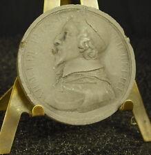 Médaille grès XIX  Cardinal -duc Armand Jean du Plessis de Richelieu Medal