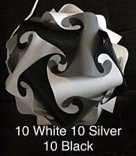 Navy White Birds SM Infinity Lights Puzzle Lamps Jigsaw IQ ZE Lamp 30 pcs USA