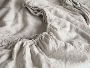 Linen-Fitted-Sheet-Softened-Washed-Euripean-Linen