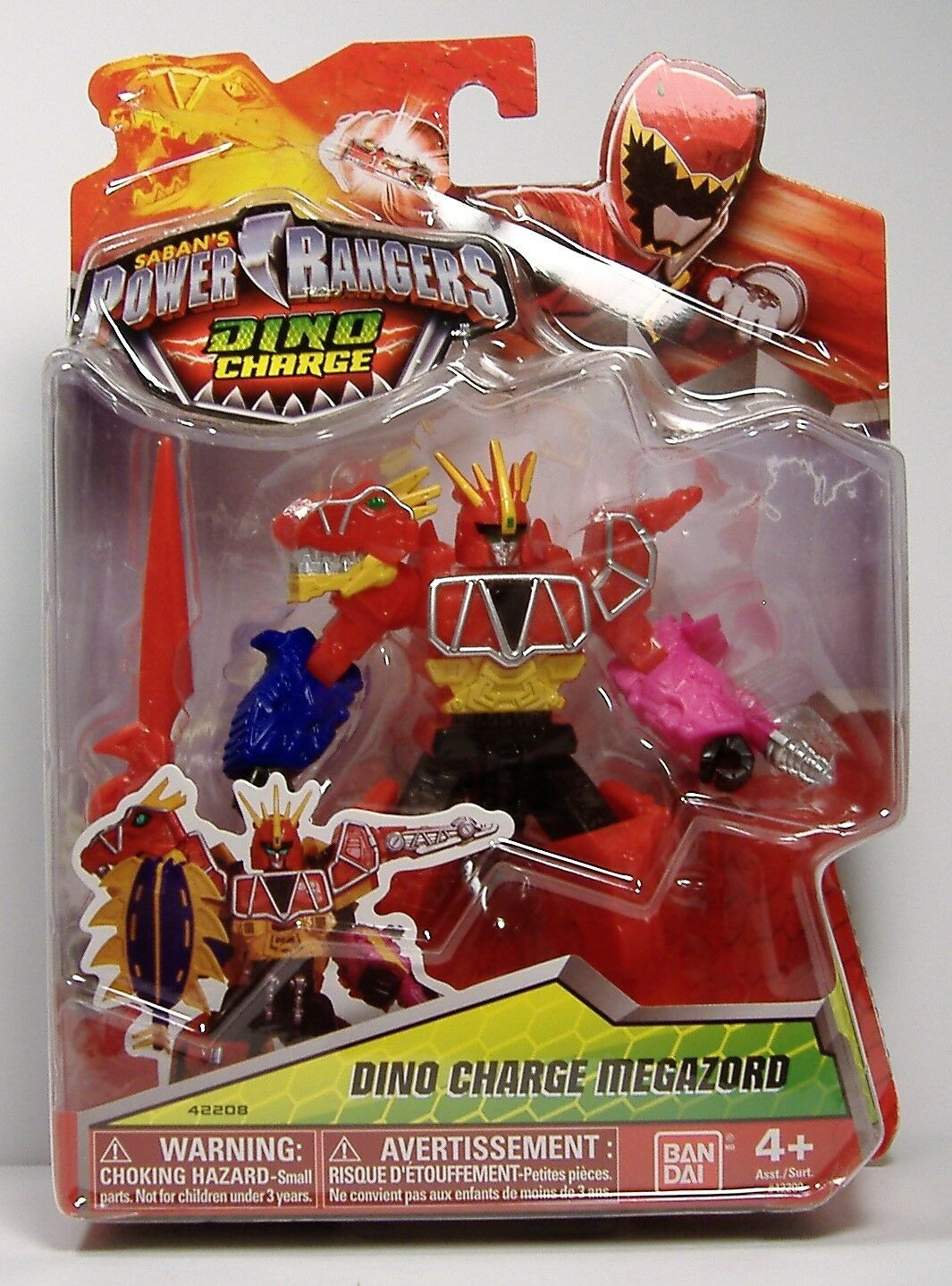 Dino anklage megazord mmpr power rangers 5
