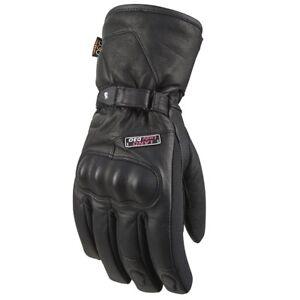 Furygan-Land-D3O-Evo-Cuir-Impermeable-Polyester-Moto-Gants-Hiver