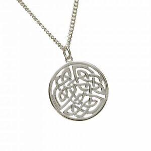 Keltischer-Anhaenger-rund-Silber-gross