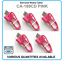 Genuine-Nokia-CA-189-Short-25cm-Micro-USB-Charge-Cable-for-Headsets-Mobiles-Pink miniatuur 1