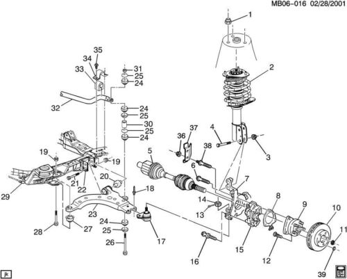 GM Axle Nut Hex Head Flanged Nut M27 X 2 X 18 New OEM 10257766 10277361 25553947
