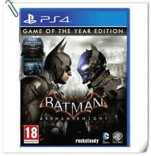 PS4 Batman Arkham Knight Game of the Year Edition GOTY Action Warner Games