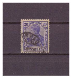 Deutsches-Reich-MiNr-87-II-d-used-geprueft-signiert
