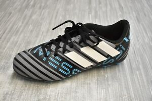 Details about Adidas Nemeziz Messi 17.4 FxG J Football Boots Moulded Studs Soccer Shoes CP9211