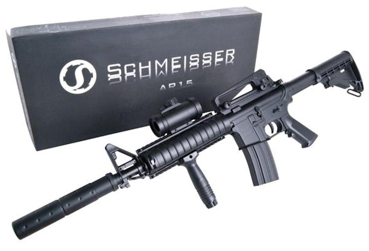 GS Schmeisser AR-15 Tactical Gewehr Airsoft Softairgewehr Waffe Softair Waffe Softairgewehr  205236 cc248a