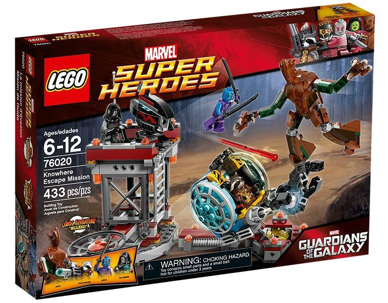 LEGO ® marvel super heroes 76020 Knowhere Escape mission nouveau OVP New MISB NRFB | Apparence Attrayante