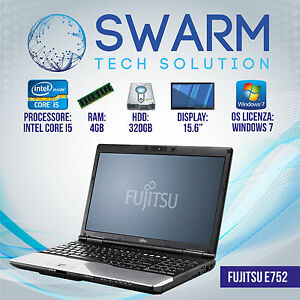 PORTATILE-NOTEBOOK-15-6-034-Fujitsu-E752-Intel-i5-3320-2-60Ghz-4GB-RAM-320GB-HDD