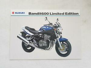 SUZUKI-BANDIT-600-LIMITED-EDITION-Motorcycle-Sale-Specification-Leaflet-APR-2004