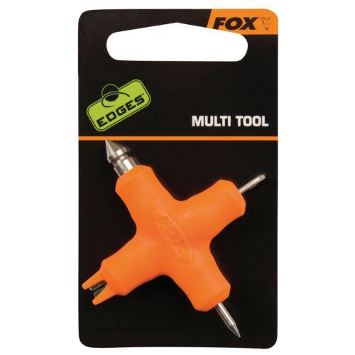 Edges Micro Multi Tool Orange Fox Karpfen angeln Zubehör