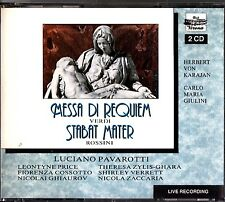 VERONA 27060/61-Verdi Requiem KARAJAN 1976/Rossini Stabat Mater '67 GIULINI 2-CD