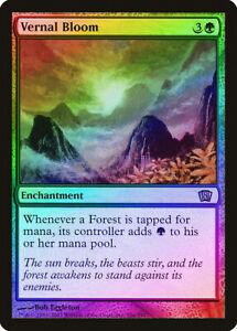 Vernal Bloom Urza/'s Saga NM-M Green Rare MAGIC THE GATHERING MTG CARD ABUGames