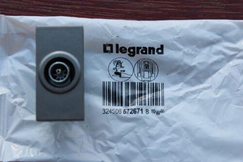 Legrand Designer Arteor 5726 71 TV Simple Screened 0-2400 MHz Module 1 M Magnésium