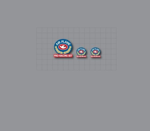 Columbus AIR PLANE PRO-RACING Stickers Decals n.22B