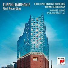 Thomas Hengelbrock - Elb-Philharmonie First Recording - Brahms: Sinfoni [New CD]
