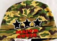 Babyrageous Baby Military Print Major Cutie Army Print Beanie Hat Toddler