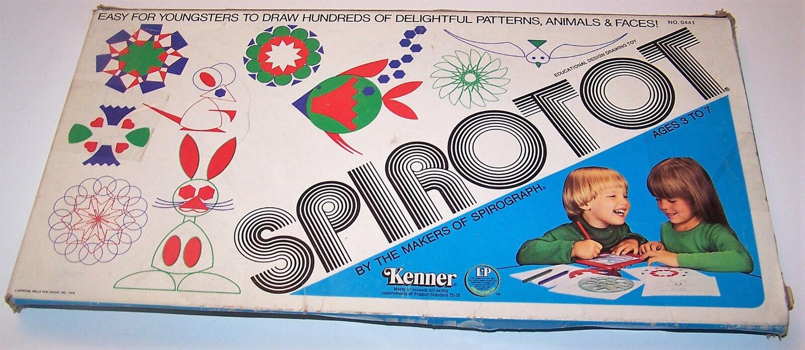 Jahrgang 1976 spirotot bildungs - spiel kenner kenner kenner spielzeug   0441 im kasten b81f9e