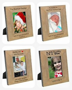 PERSONALISED-Birthday-PHOTO-PICTURE-FRAME-Gifts-Present-for-My-Our-DAD-I-Love